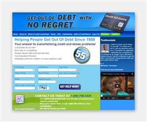 Banner Ad Design by NagCreative - Some visual adjustments to website