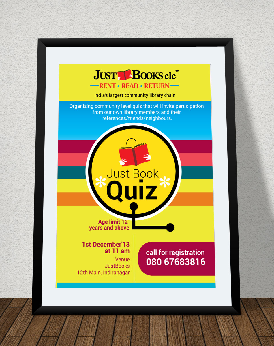 Poster design for quiz - Poster Design By Bob For Poster Design For A Quiz Contest Design 2701947