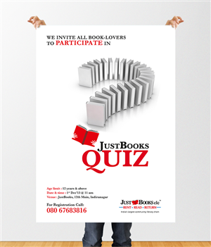 Invitation card for quiz competition purplemoon professional poster designs for a business in india invitation samples stopboris Image collections