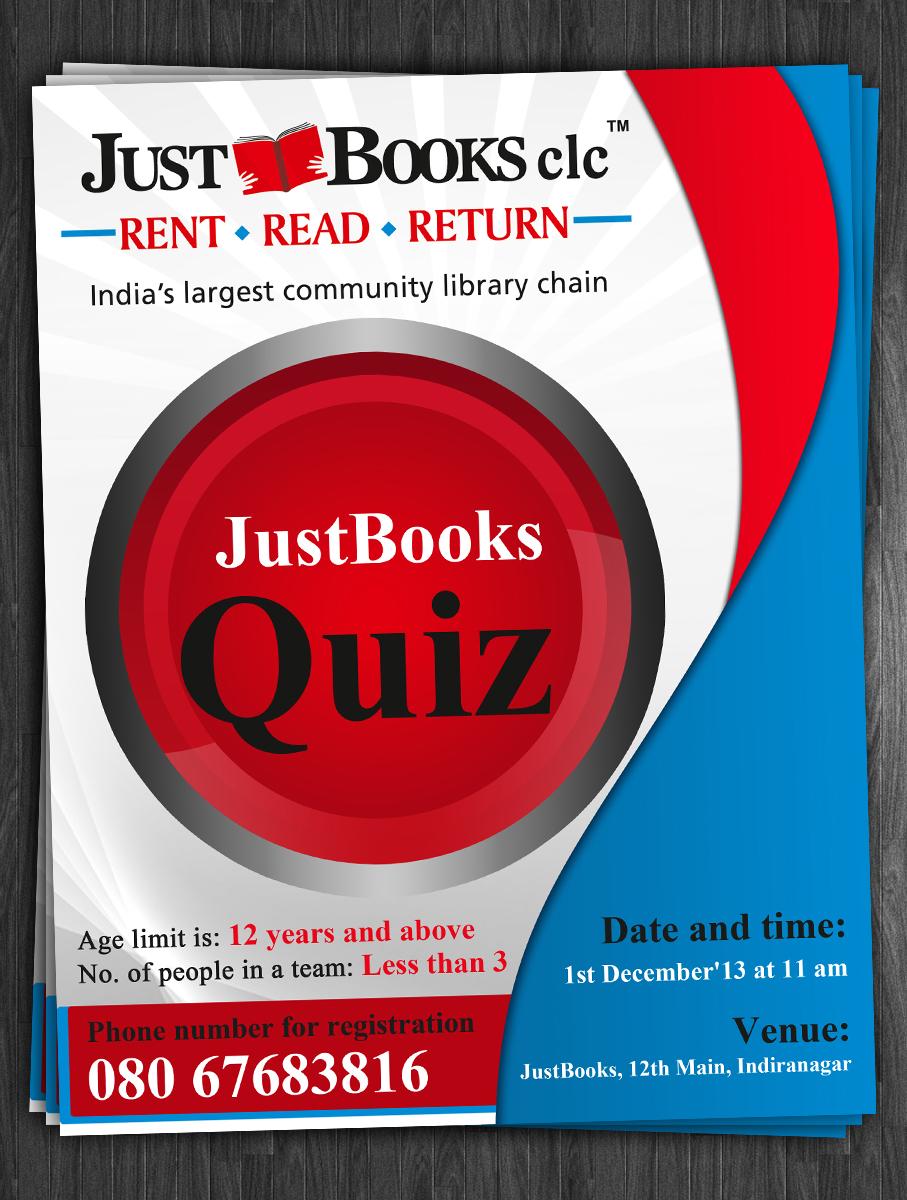 Poster design for quiz - Poster Design By Esolz Technologies For Poster Design For A Quiz Contest Design 2698764