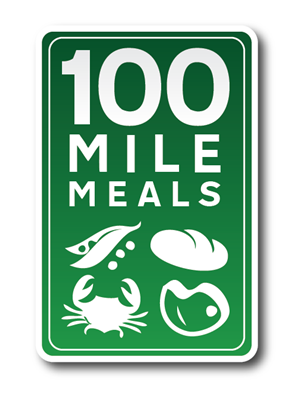 Logo Design by a - 100 Mile Meals
