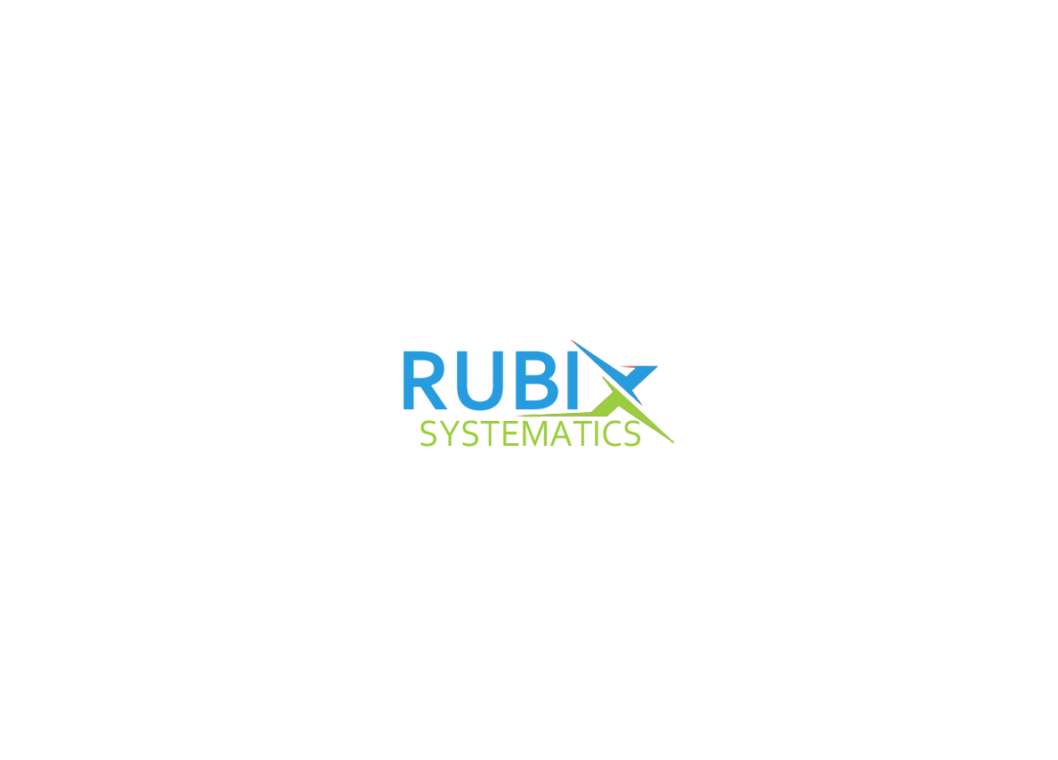 modern professional computer logo design for rubix systematics by
