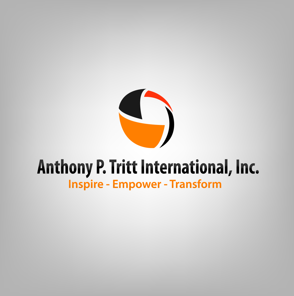 Consulting logo design for inspire empower transform for Decor products international inc