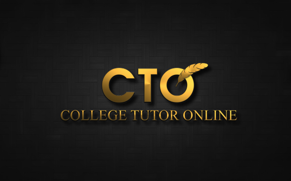it company logo design for letters cto words college tutor online