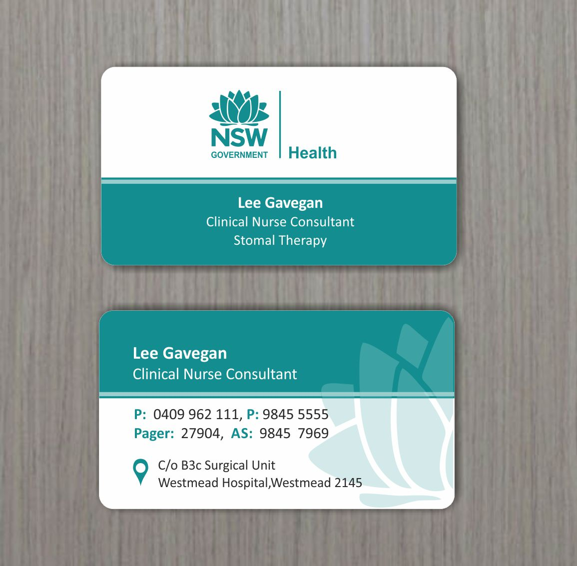 Elegant, Serious, Medical Business Card Design for a Company by ...