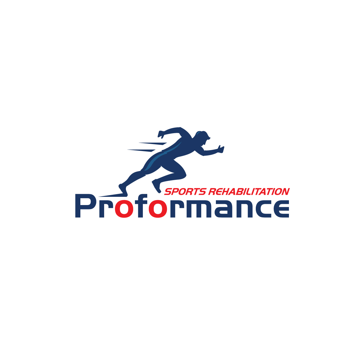 Bold Modern Physical Therapy Logo Design For Proformance Sports Rehabilitation By Creative Bugs Design 17125347
