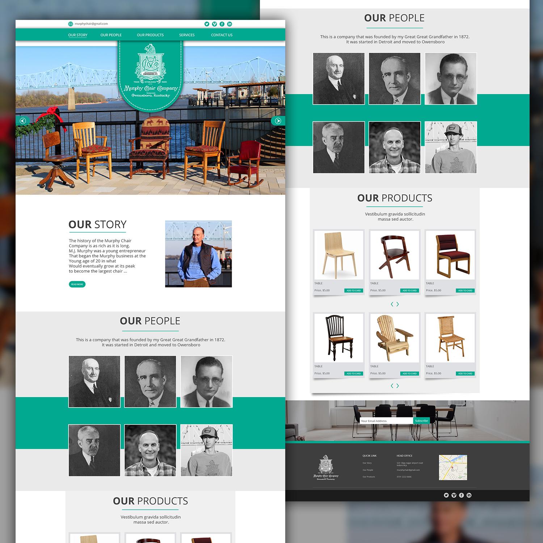 Amazing Serious Conservative It Company Web Design For Murphy Spiritservingveterans Wood Chair Design Ideas Spiritservingveteransorg
