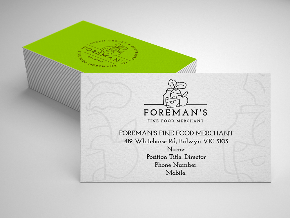 Upmarket, Elegant, Retail Business Card Design for a Company by ...