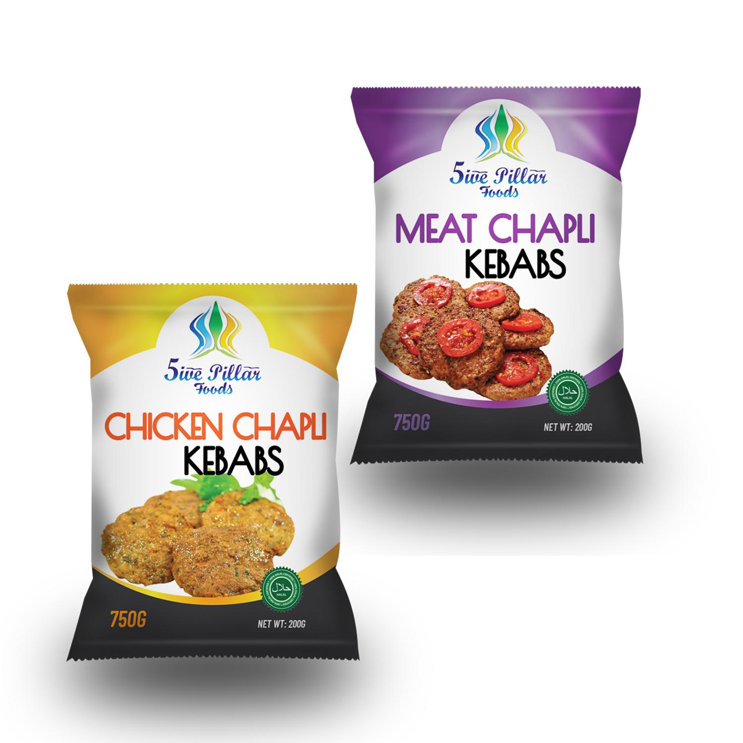 Modern Professional Crowd Packaging Design For Uk Frozen Food