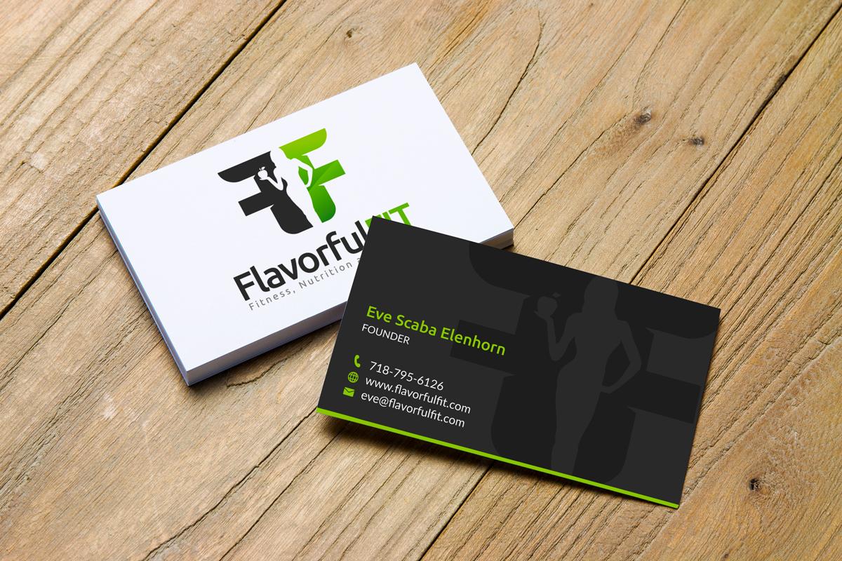 Bold modern business card design for eve by jk18 design 17163977 business card design by jk18 for global weight loss program design 17163977 colourmoves Gallery