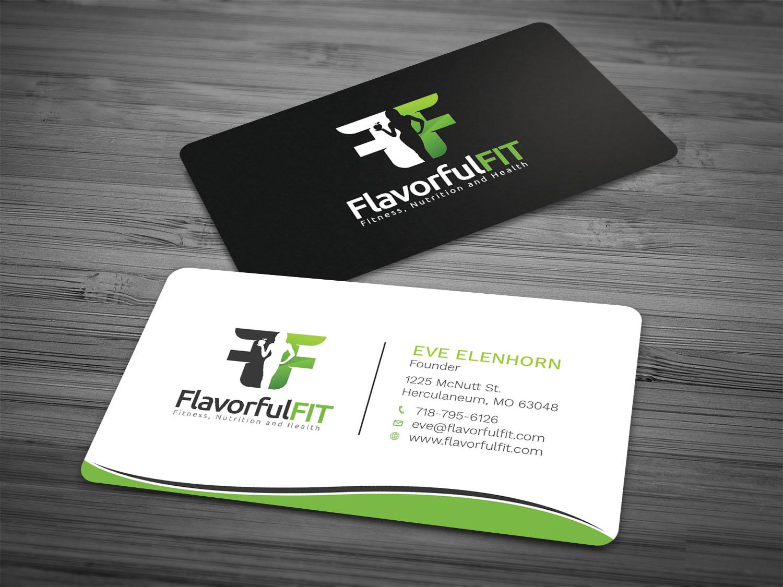 Bold modern food service business card design for eve by bold modern food service business card design for eve in united states design 17157221 colourmoves