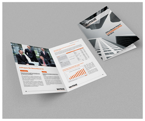 corporate brochure design 4 pages