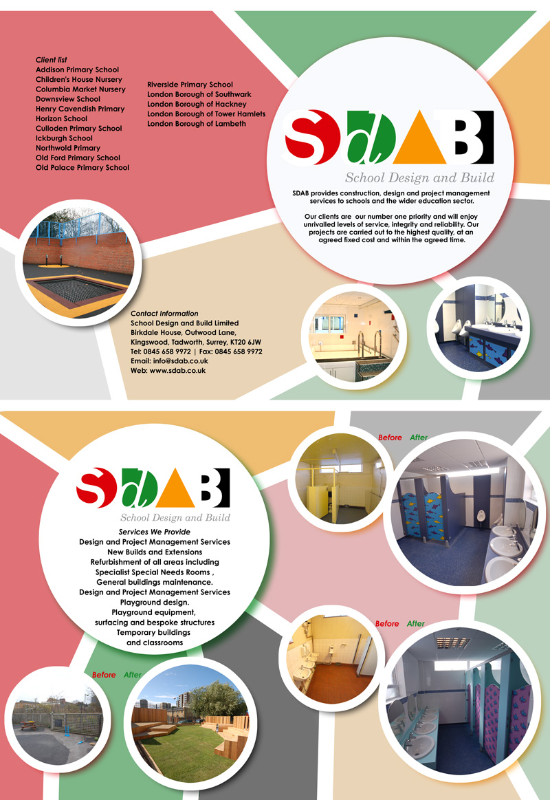 Brochure Design By Lfs Designs For School And Build Limite 49652