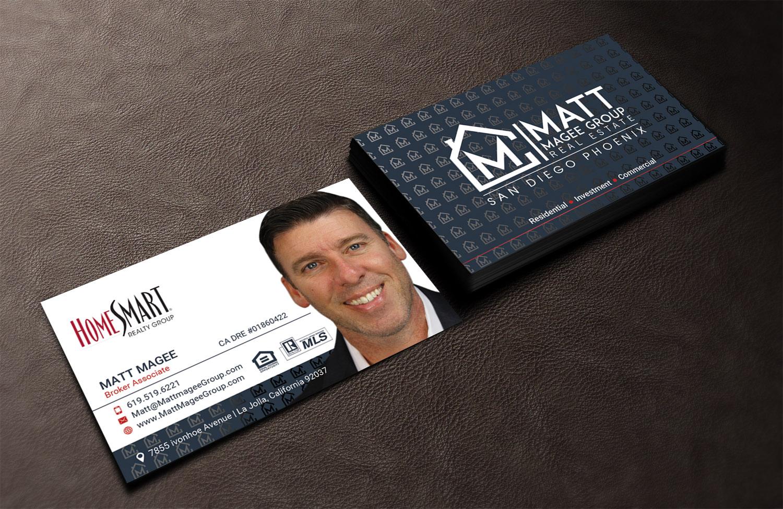 Bold modern real estate agent business card design for a company bold modern real estate agent business card design for a company in united states design 17207592 colourmoves