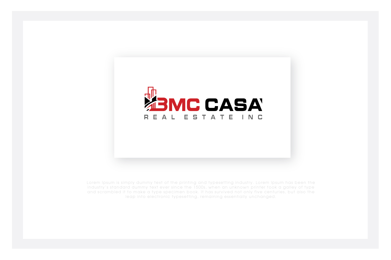 Bold, Serious, Real Estate Logo Design for BMC CASA REAL