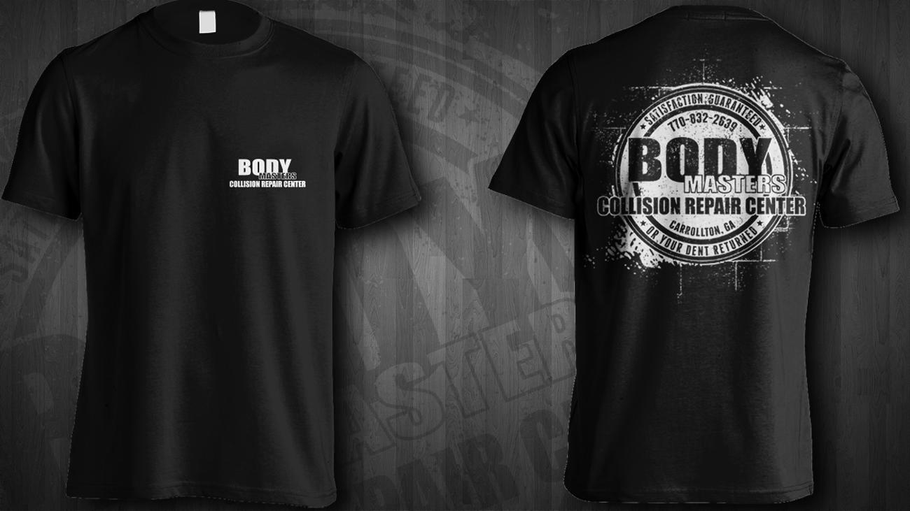 T Shirt Design By Jonya For Body Masters 17218081