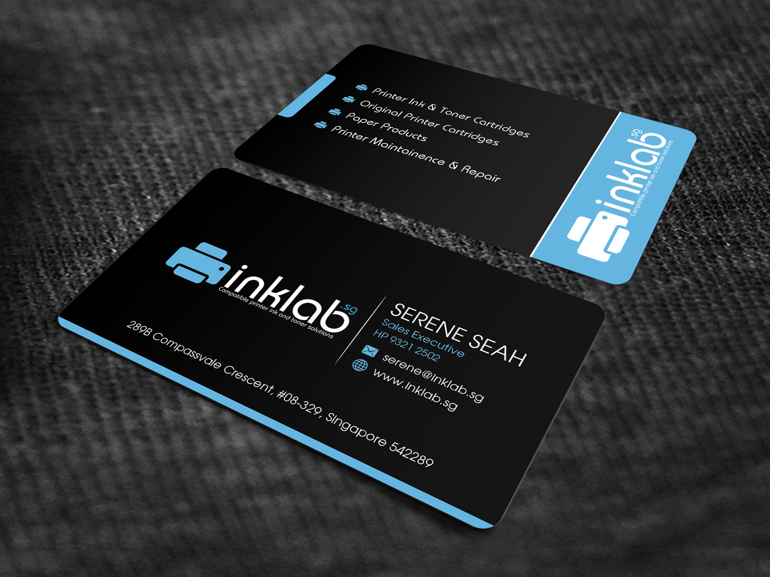 Business Card Design By Sandaruwan For This Project