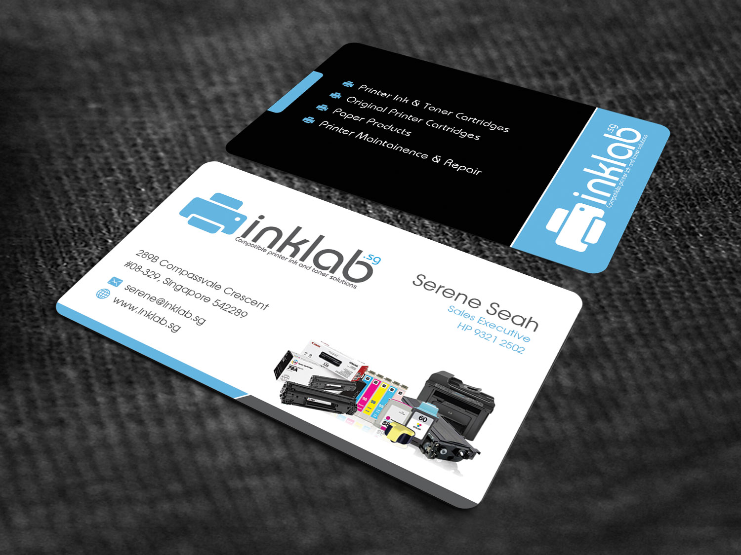 121 Colorful Business Card Designs | It Company Business Card Design ...