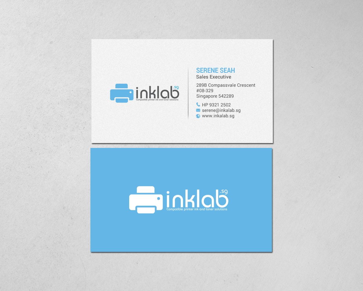Colorful, Upmarket, It Company Business Card Design for a Company by ...