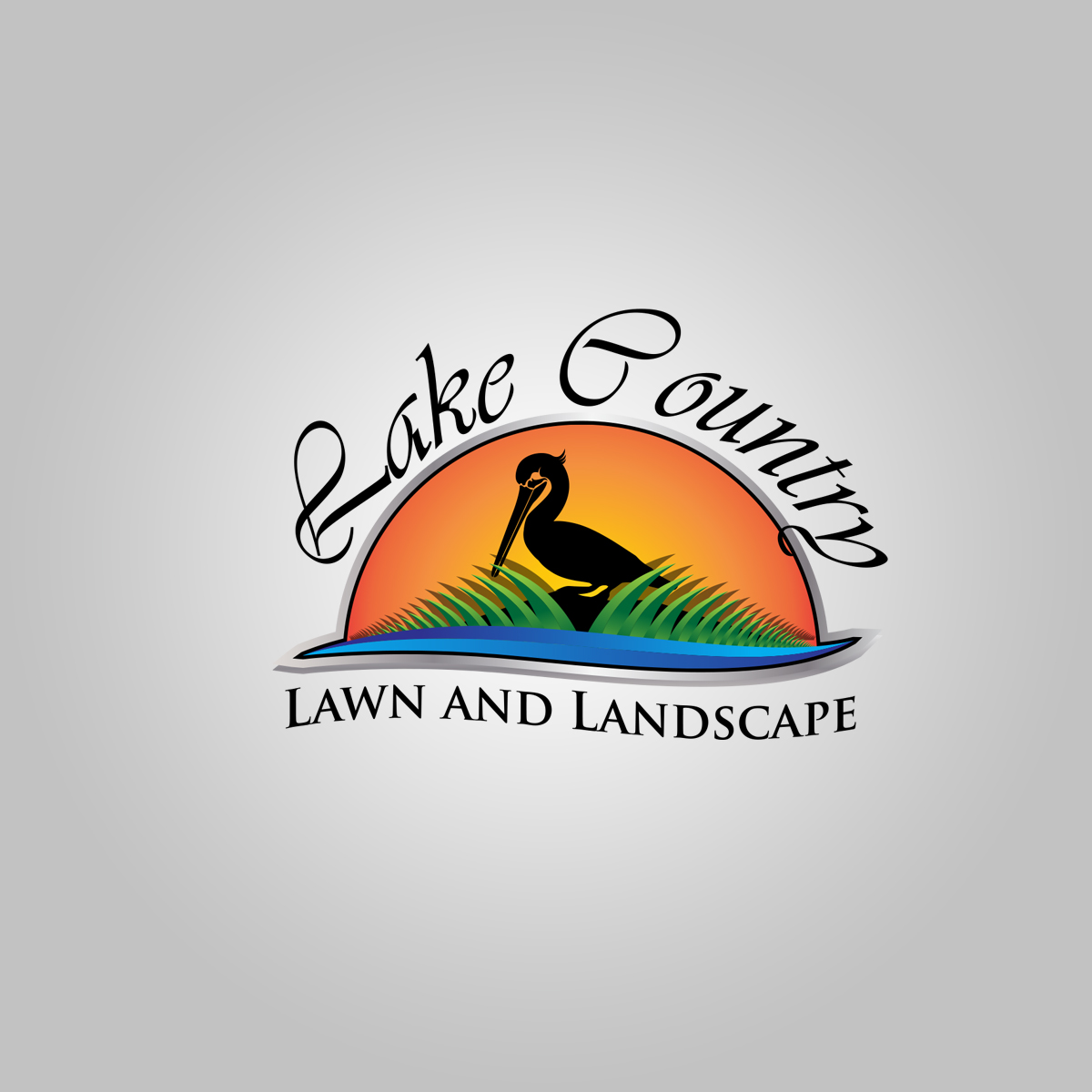 Logo Design By Graphicancers For Lake Country Lawn And Landscape 17226599