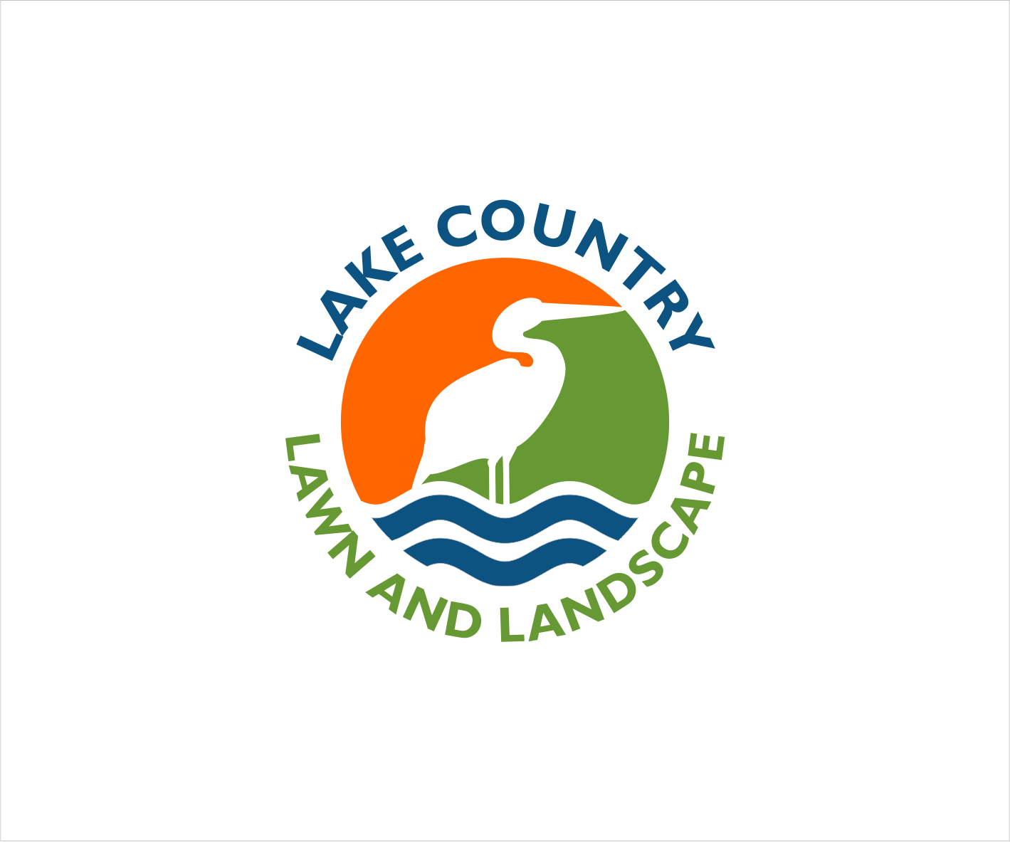 Logo Design By Lkstudio For Lake Country Lawn And Landscape 17227239