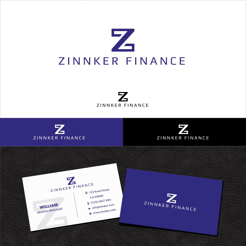 Modern, Serious, Finance Logo and Business Card Design for Zinnker ...