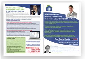 Flyer Design by DAStudioDesigns - Revolutionairy Video Marketing Consultant