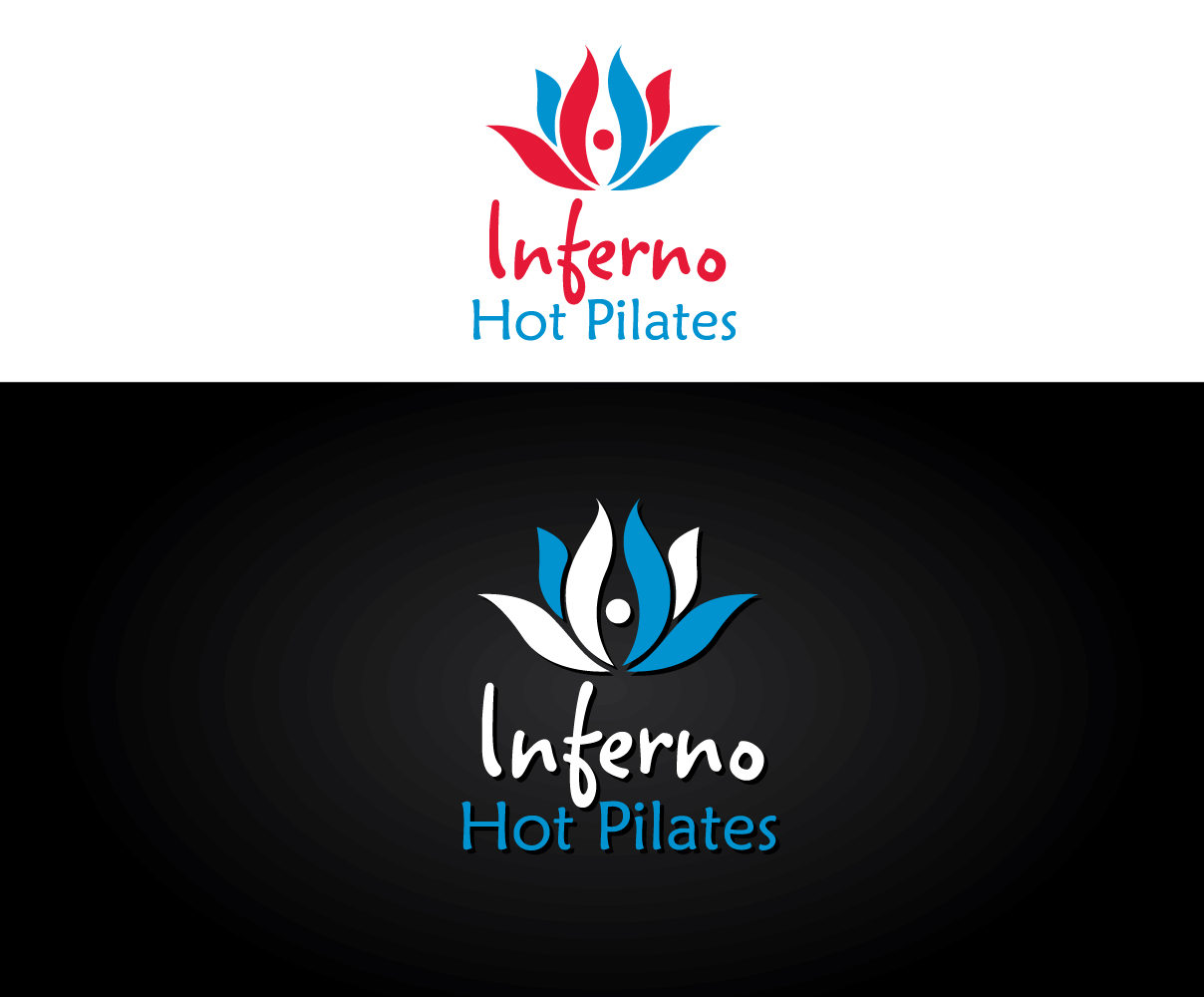design de logo moderne haut de gamme health and wellness pour inferno hot pilates vancouver. Black Bedroom Furniture Sets. Home Design Ideas