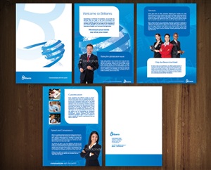 Brochure Design job – Global Translation Company Brochure Design Project – Winning design by MNM