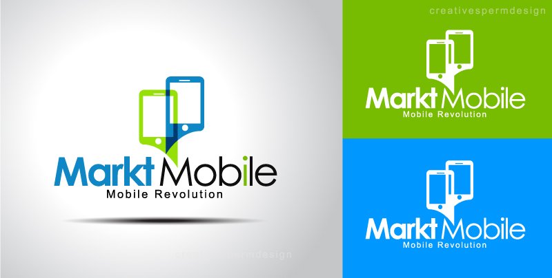 Logo Design By Creative Sperm For Innovative Mobile Marketing Startup Needs  A Logo Design   Design