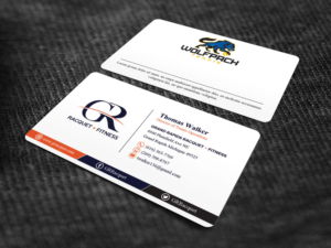 Tennis business card design galleries for inspiration design a new tennis and athletic club business cards desired with a wow factor colourmoves
