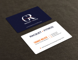 Useful business card design galleries for inspiration page 6 business card design for grand rapids racquet by avanger000 colourmoves Images