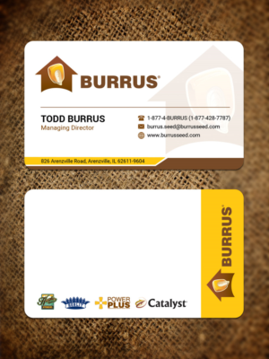 bold modern business card design job business card brief for