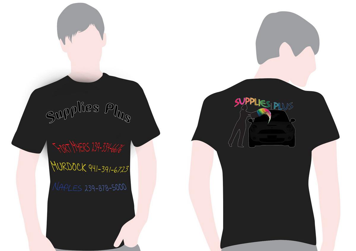 Shirt design supplies - T Shirt Design By Khaled Quaresma For Supplies Plus Needs T Shirt Of Automotive Design