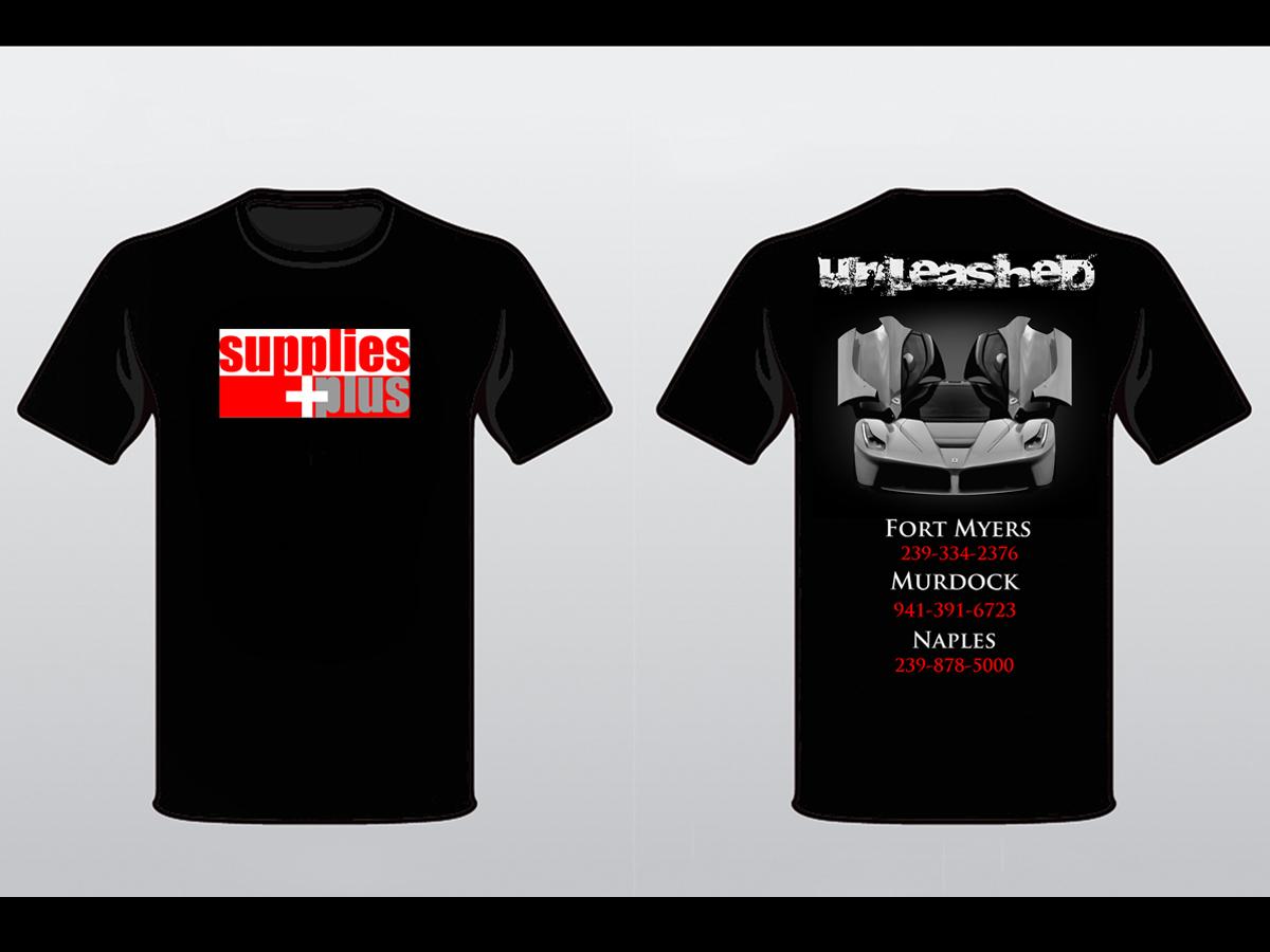 Shirt design supplies - T Shirt Design By Elephantdesign For Supplies Plus Needs T Shirt Of Automotive Design For