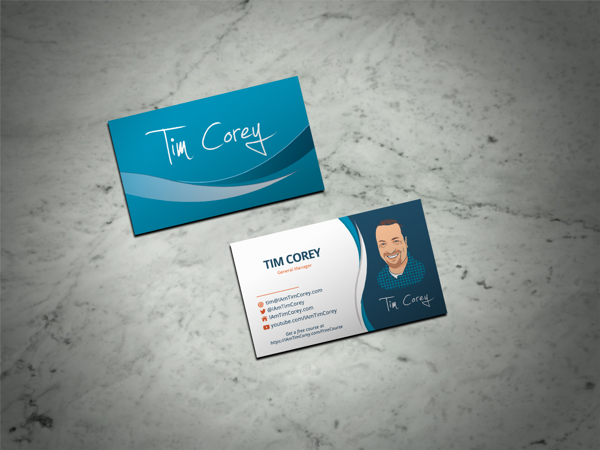 Modern, Bold, Software Development Business Card Design for a ...