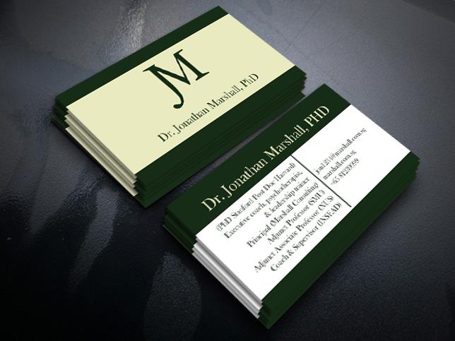 Upmarket elegant psychology business card design for marshall business card design by ernestsegovia for marshall consulting pte ltd design 17297709 colourmoves