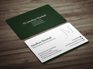 upmarket elegant business card design job business card brief