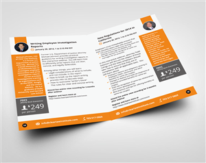 Brochure Design by lookedaeng - Continuing Education Company Needs a Direct Mai ...