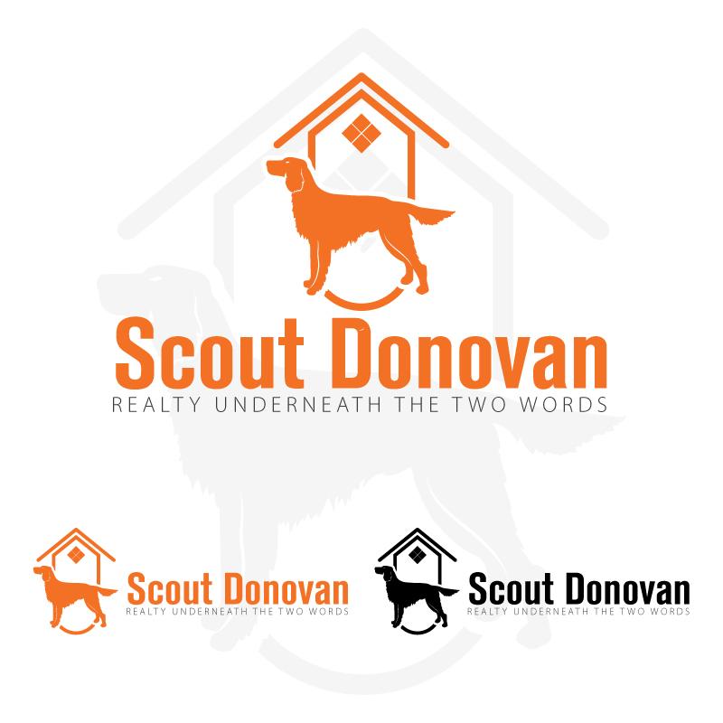 Upmarket, Elegant, Real Estate Logo Design for Donovan Fine
