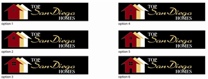 Logo Design job – Top San Diego Homes - Real Estate - Logo Design Project – Winning design by production_guy