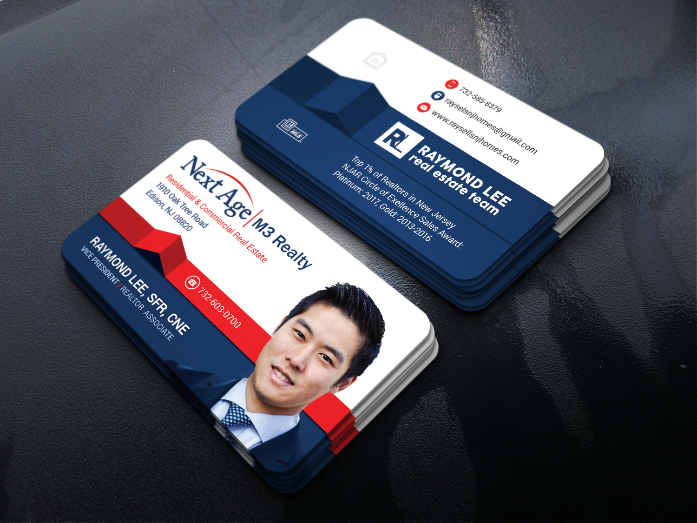 Bold modern real estate business card design for a company by bold modern real estate business card design for a company in united states design 17395855 colourmoves