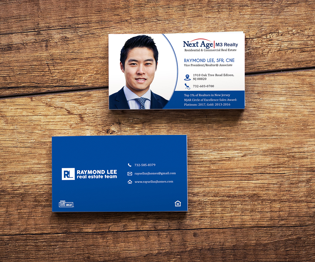Bold modern real estate business card design for a company by bold modern real estate business card design for a company in united states design 17356768 reheart Image collections