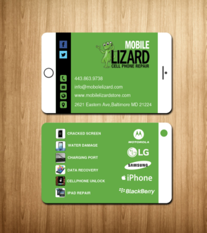 Cell phone business card designs 47 cell phone business cards to mlizard cell phone repair business card design by creations box 2015 colourmoves