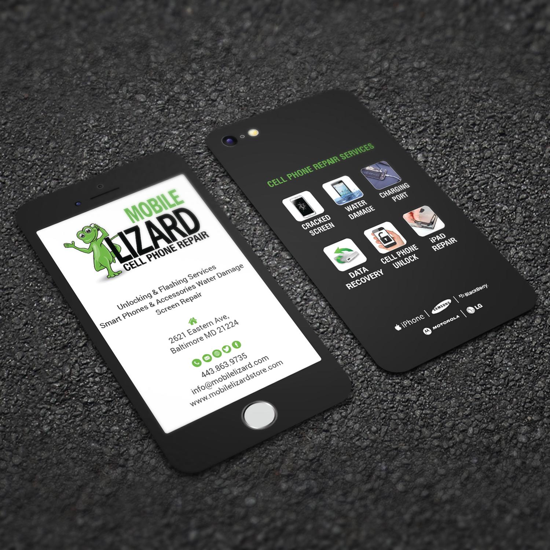 Design De Carte Visite Moderne Haut Gamme Cell Phone Pour Blanche Communications En Aux United States