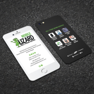 Cell phone business card designs 47 cell phone business cards to mlizard cell phone repair business card design by rightd colourmoves