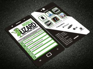 Cell phone business card designs 47 cell phone business cards to mlizard cell phone repair business card design by raajesh colourmoves