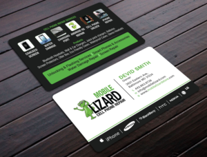 Cell phone business card designs 47 cell phone business cards to mlizard cell phone repair business card design by avanger000 colourmoves