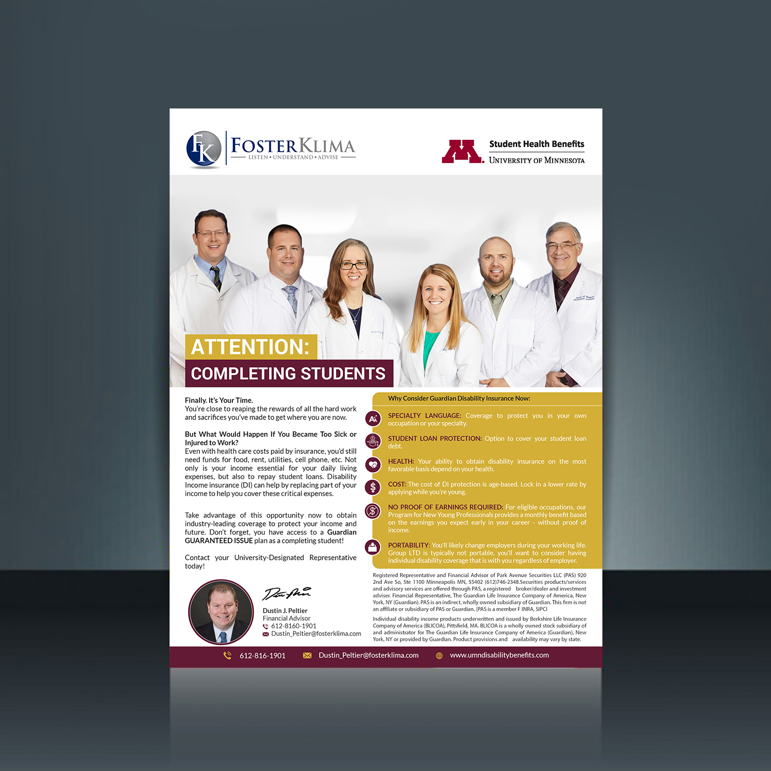 Professional conservative insurance brochure design for a company brochure design by creativebugs for this project design 17371547 altavistaventures Image collections
