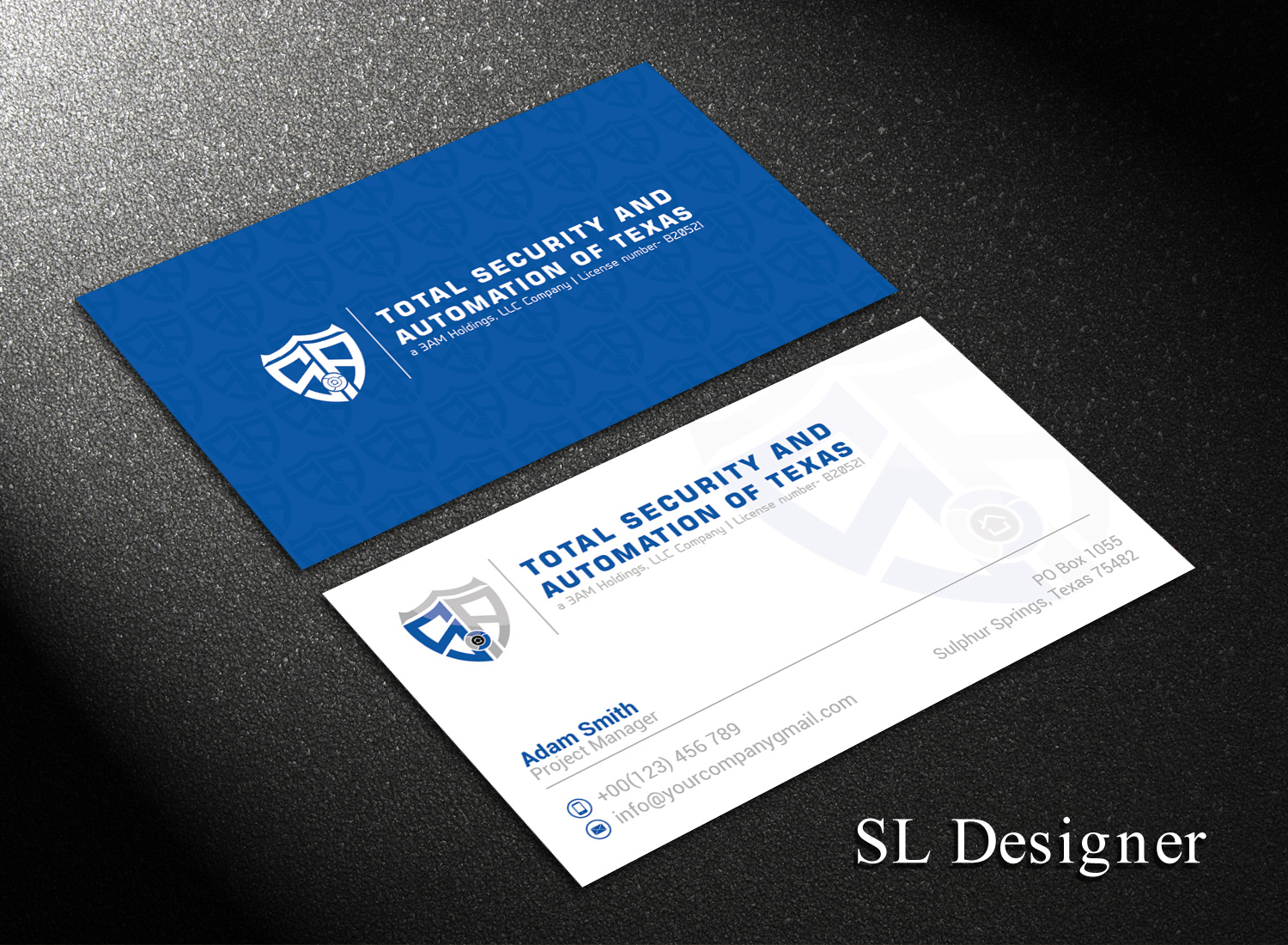 Professional, Modern, It Company Business Card Design for Total ...